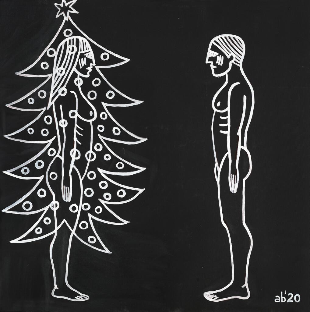 3-Ana Banică - Bradul de Crăciun, achiziționat de Artmark